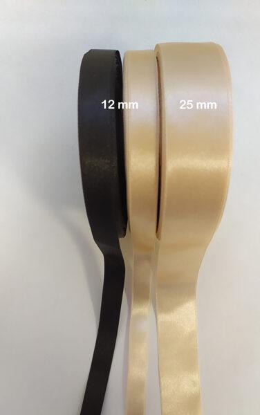 Satīna lenta 12 mm, 1 metrs